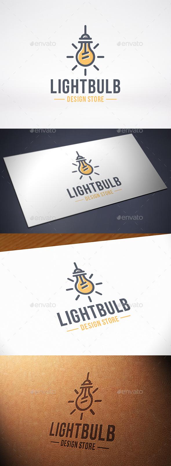 Idea Bulb Logo Template - Objects Logo Templates