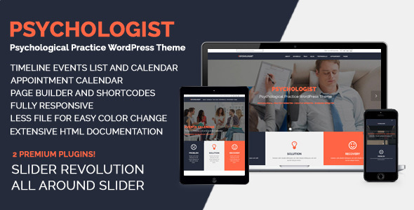 Psychologist - Psychological Practice WP Theme - Miscellaneous WordPress