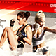 Cardio Kickboxing Facebook Cover Template Nulled