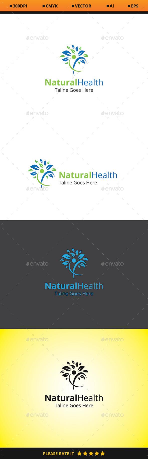 Natural Health Logo - Logo Templates