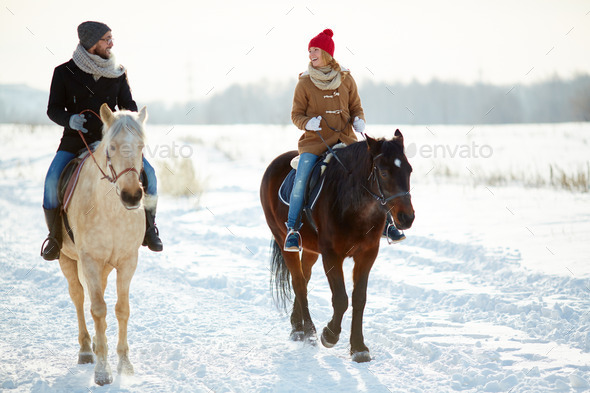 Horse riding - Stock Photo - Images