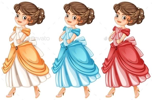 Princess - Characters Vectors