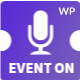 Event On -  Conference & Event WordPress Theme Nulled