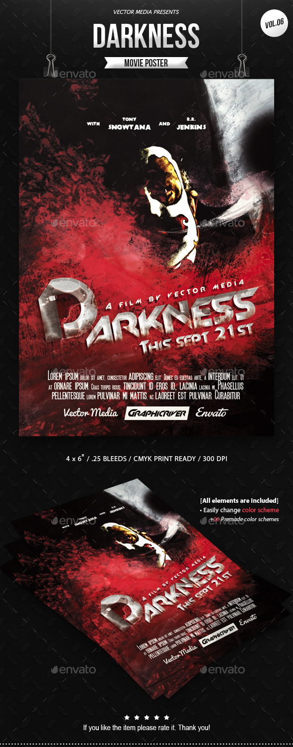 Horror - Movie Poster [Vol.6] - Miscellaneous Events