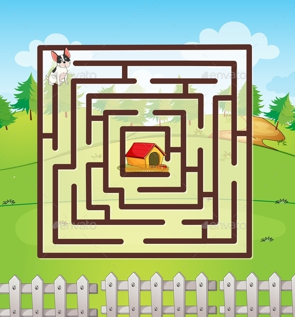 Maze - Sports/Activity Conceptual