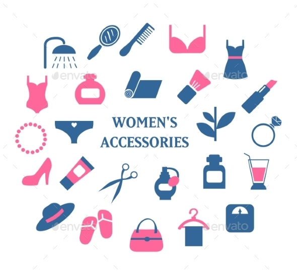 Woman Accessories Set - Retail Commercial / Shopping