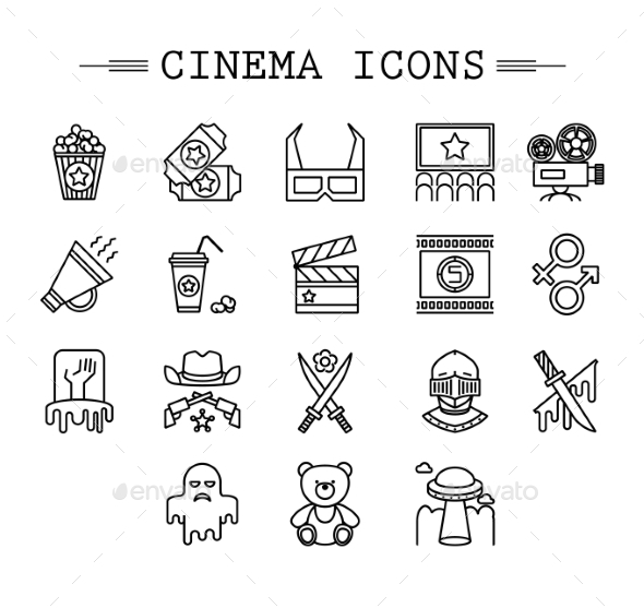 Cinema Collection - Decorative Symbols Decorative