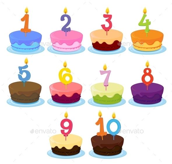Ten Cakes  - Birthdays Seasons/Holidays