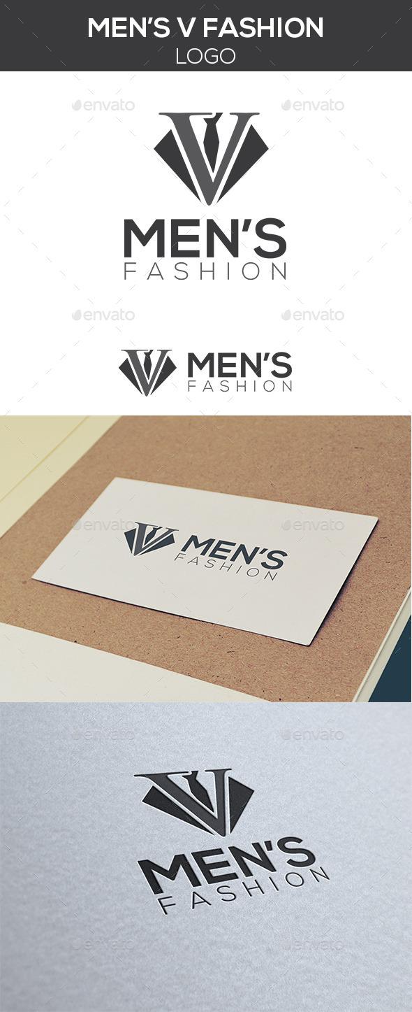 Men's Fashion Logo - Letters Logo Templates