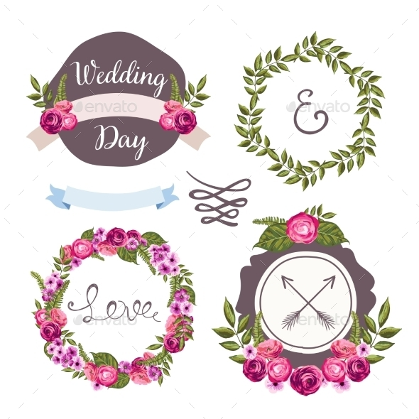 Wedding Collection Elements  - Flowers & Plants Nature