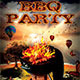 BBQ Party Flyer Template V1 - GraphicRiver Item for Sale