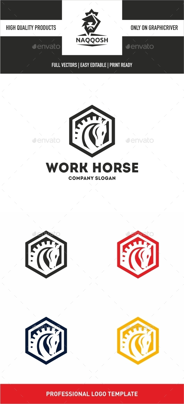 Work Horse - Logo Templates