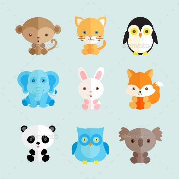 Animal Icons  - Animals Characters