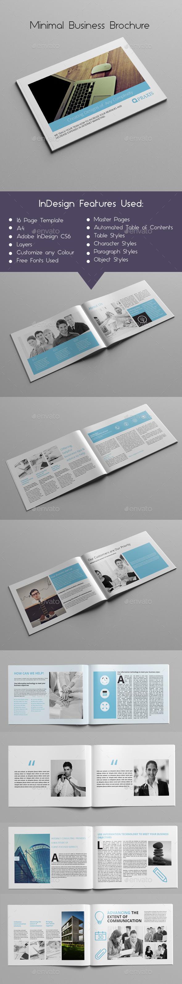 Minimal Business Brochure - Corporate Brochures