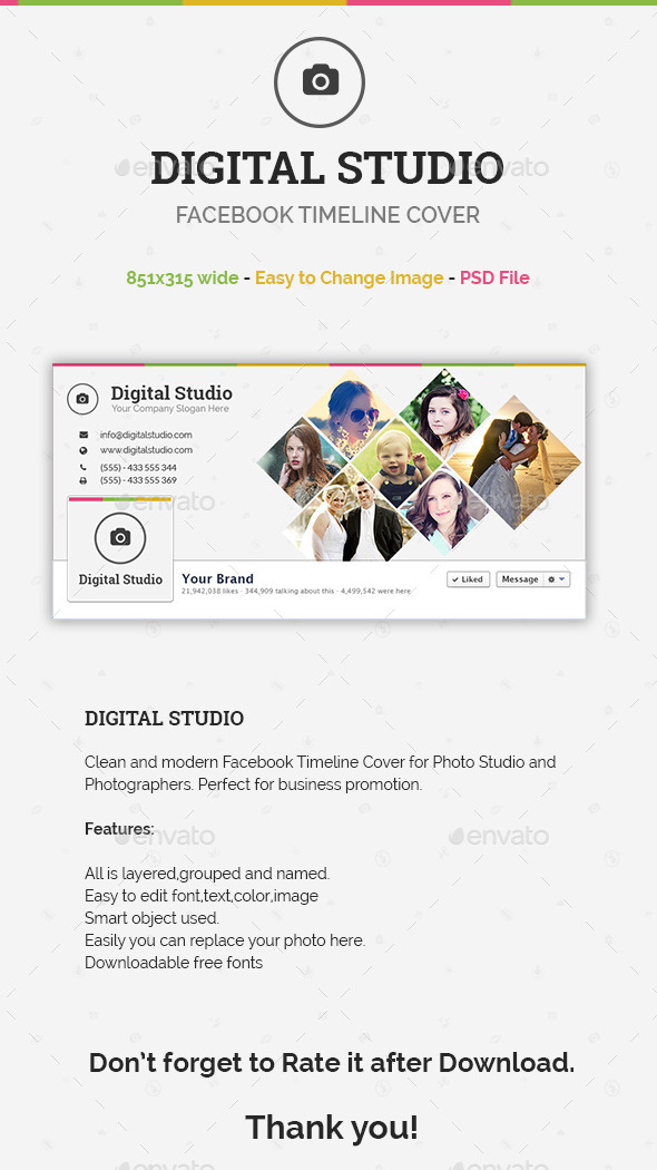 Digital Studio - Facebook Timeline Cover - Facebook Timeline Covers Social Media