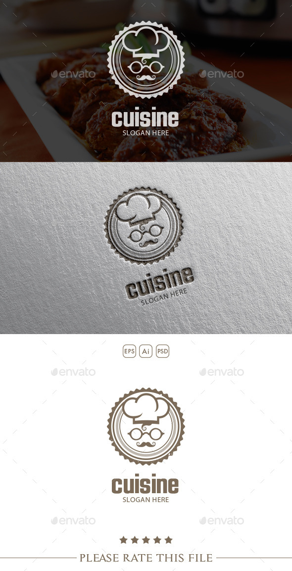 Chef Logo - Food Logo Templates