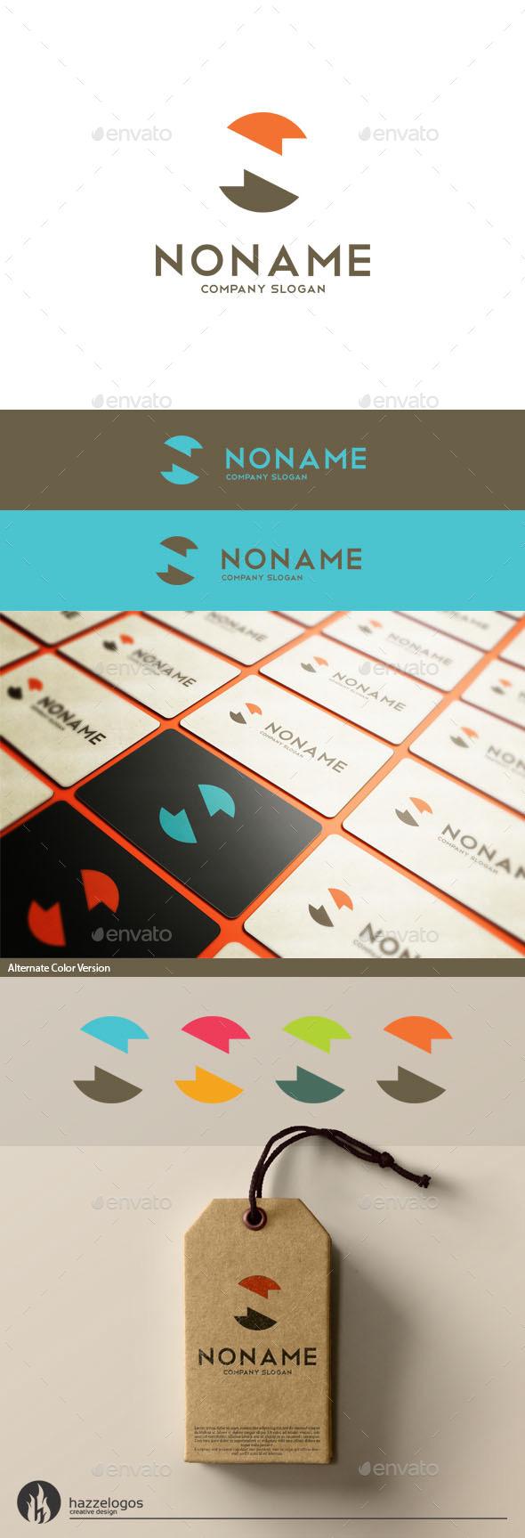 Noname - Letter N Logo - Letters Logo Templates