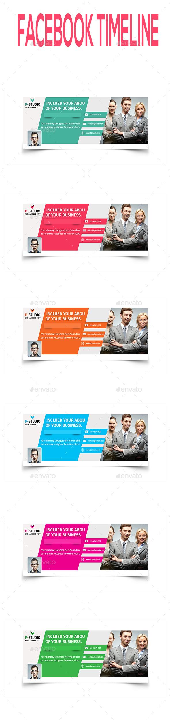 Multipurpose Facebook Timeline V1 - Facebook Timeline Covers Social Media