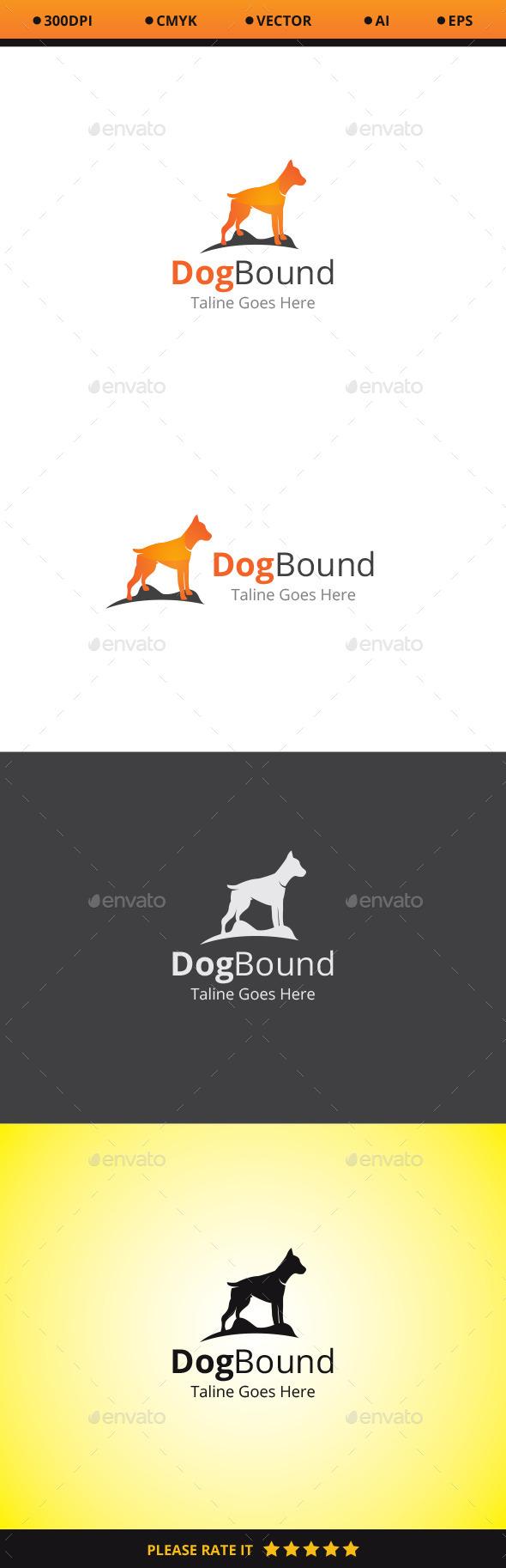 Dog Bound Logo - Animals Logo Templates