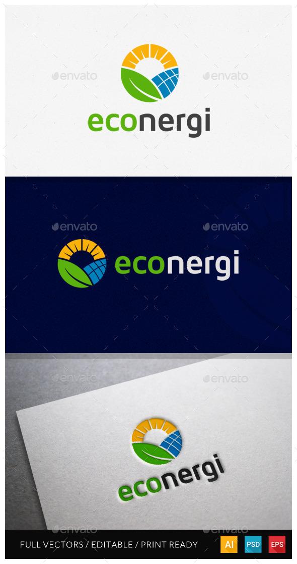 Econergi Logo Template - Symbols Logo Templates