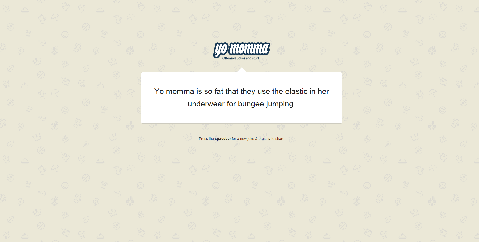 Yo Momma: Random Jokes Script (With 3,500 Jokes)