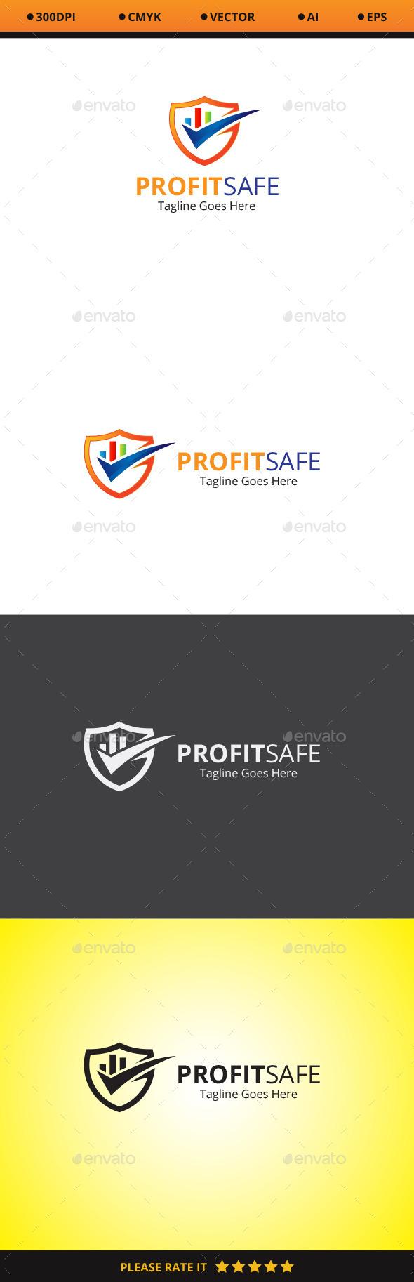 Profit Safe Logo - Symbols Logo Templates