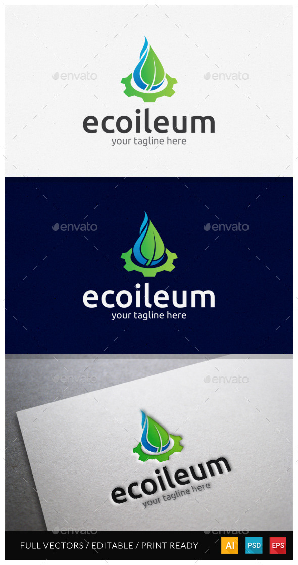 Ecoileum Logo Template - Symbols Logo Templates