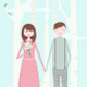 Couple During Spring Time - GraphicRiver Item for Sale
