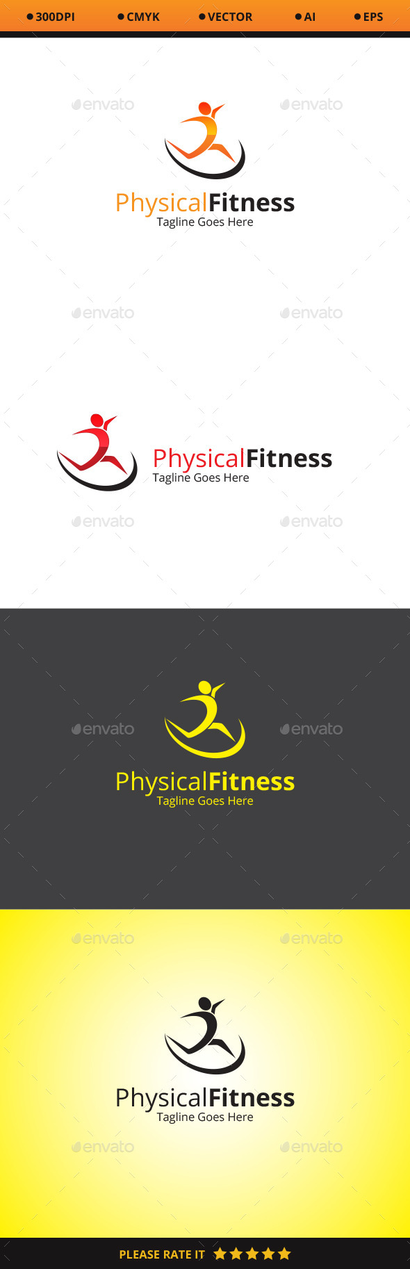 Physical Fitness Logo - Nature Logo Templates