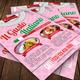 Italian Restaurant Flyer Template 60