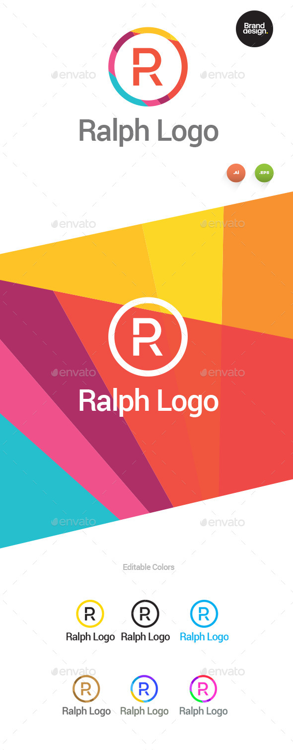 Ralph Logo - Letters Logo Templates