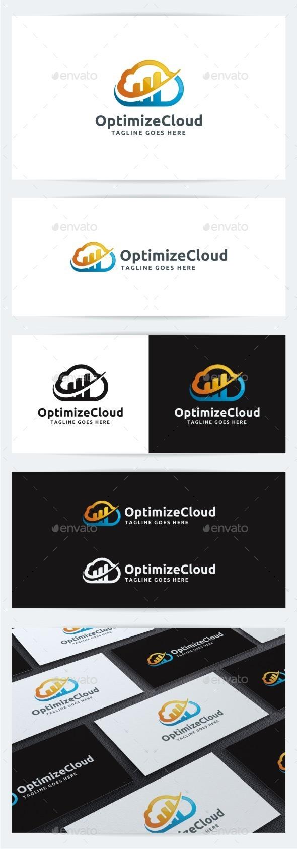 Optimize Cloud - Symbols Logo Templates