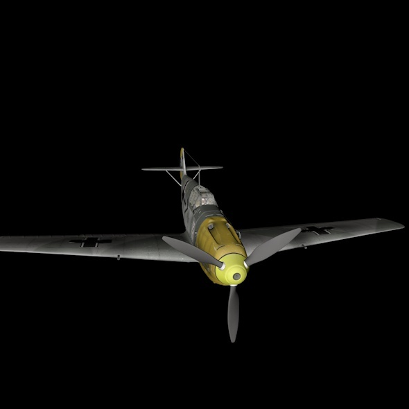 Messerschmitt Bf.109 - 3DOcean Item for Sale