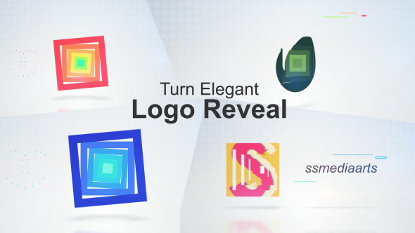 Turn Elegent Logo Reveal