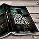 Book Mockup Dimension 160 x 225 mm - Paperbacks - GraphicRiver Item for Sale