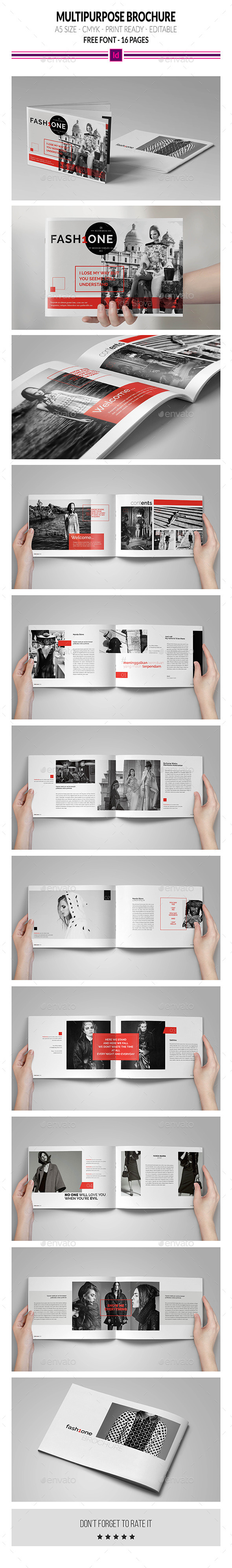 Multipurpose Brochure Template - Portfolio Brochures
