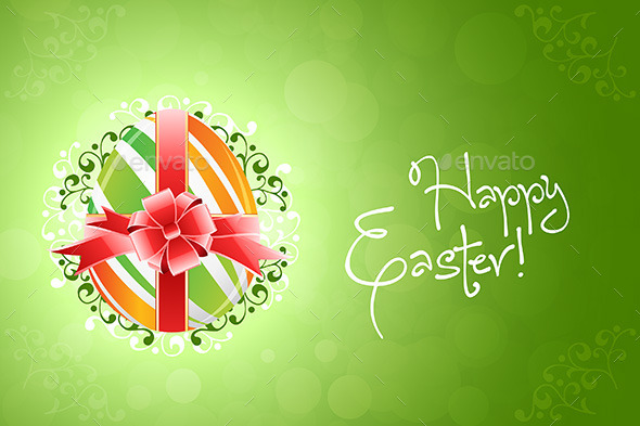 Easter Egg Background - Miscellaneous Seasons/Holidays
