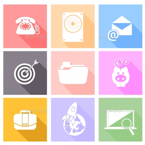 Set of Icons for Business - Concepts Business