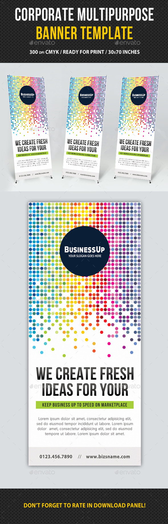 Multipurpose Banner Template V06 - Signage Print Templates