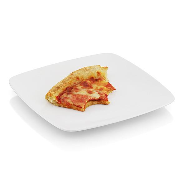 Bitten pizza slice - 3DOcean Item for Sale