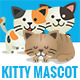 10 Kitty Mascots - GraphicRiver Item for Sale
