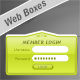 Glassy Elegant Web 2.0 Box Designs - GraphicRiver Item for Sale
