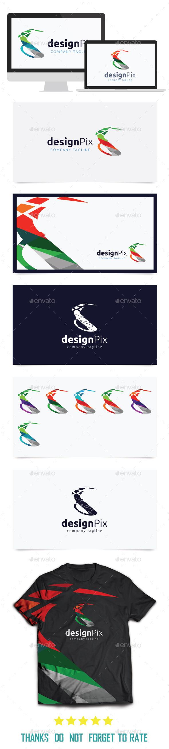 Design Pix Logo Templates - Letters Logo Templates