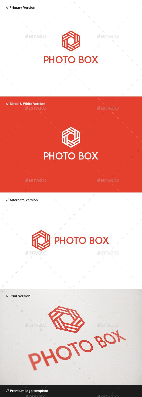 Photo Box Logo - Logo Templates