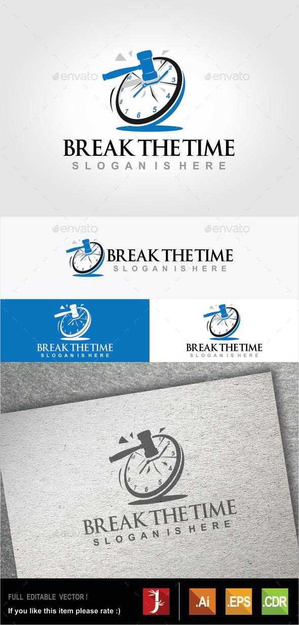 Break The Time - Symbols Logo Templates
