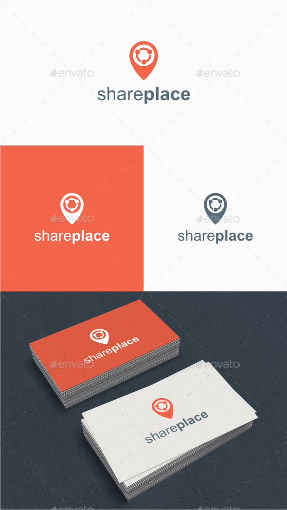 Share Place - Logo Template - Abstract Logo Templates