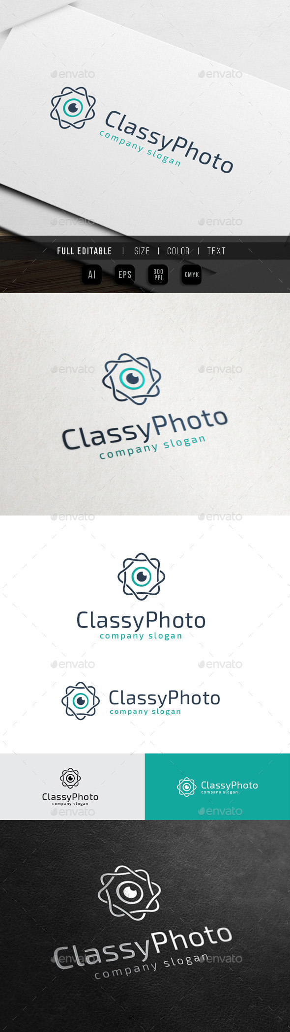 Classy Photo - Royal Vision - Objects Logo Templates
