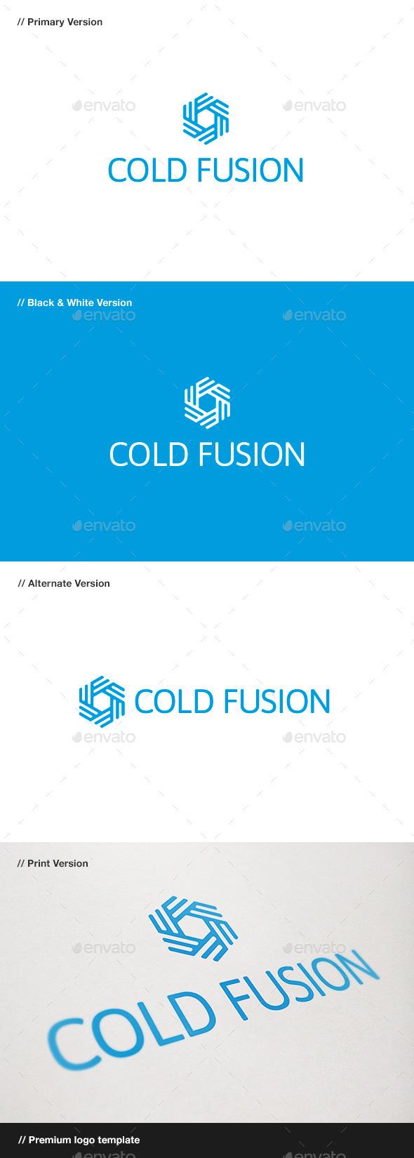Cold Fusion - Symbol Logo - Symbols Logo Templates