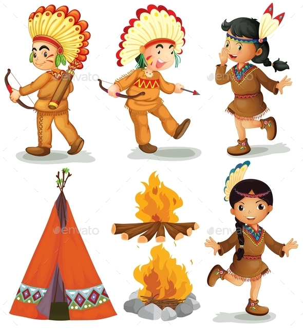 Indians - People Characters
