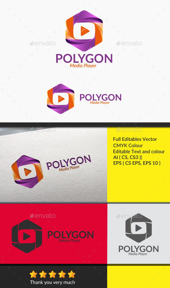 Polygon - Symbols Logo Templates